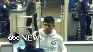 Video shows border officers