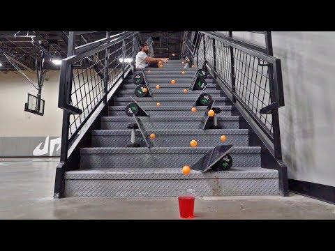 Ping Pong Trick Shots 4 | Dude Perfect | dude perfect