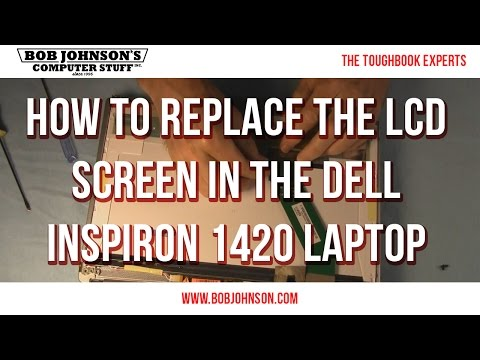 How to replace the LCD Screen in the Dell Inspiron 1420 Laptop