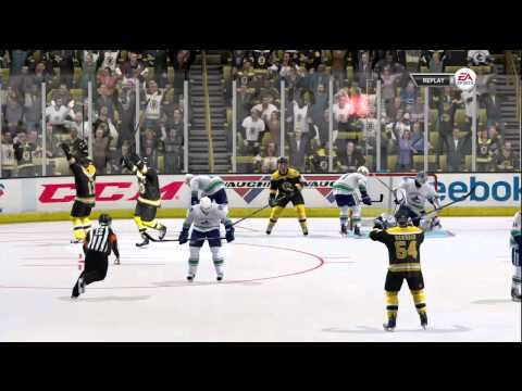 NHL 12 Demo Be A Pro Gameplay, Includes OT and SO (HD)