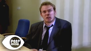 Jez Tries To Ruin His Own Interview - Peep Show