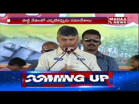 Politics Heat Up In AP : AP CM Regularly Holds Meeting With TDP Senior Leaders | Mahaa News
