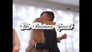 The best man speech.