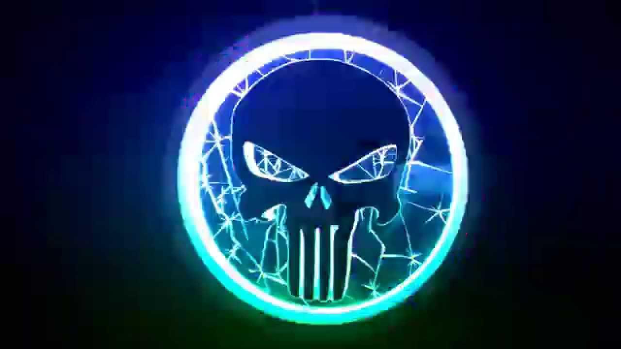 Low Notes Garage Custom Built TEAM DEFJ Punisher Skull Logo - YouTube