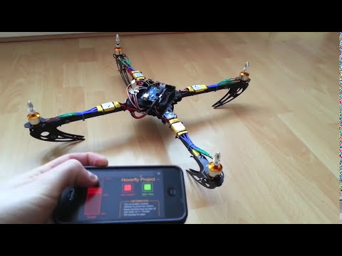 Arduino Quadcopter - Phase 2 (Mobile Control)