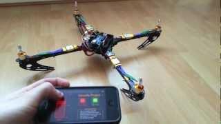 Arduino Quadcopter - Phase 2 (Mobile Control)