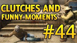 CS GO Funny Moments and Clutches #44 CSGO