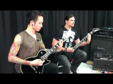 Trivium in the Guitar World Studio