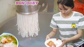 Có gì trong tô BÚN QUẬY 60k bún tươi còn thơm mùi gạo ở Sài Gòn