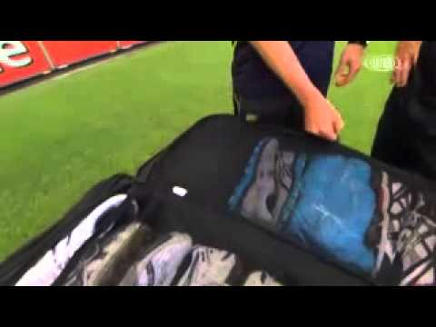 peter siddle kitbag