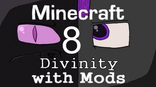 Minecraft: Divinity with Mods(8): Fort Snow