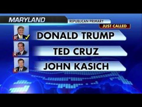 Trump wins Maryland, Pennsylvania and Connecticut