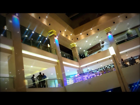 AERIAL VIEW KARACHI ' DOLMEN MALL PAKISTAN LIGHT CITY AKN 2013 NEWS