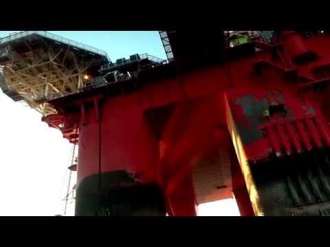 Greenpeace ocupa plataforma da Statoil