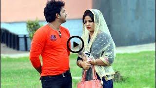 देखिए पवन सिंह ऑर उनकी पत्नी को शूटिंग के दौरान मस्ती करते हुए - Pawan Singh & His Wife Enjoy Pics