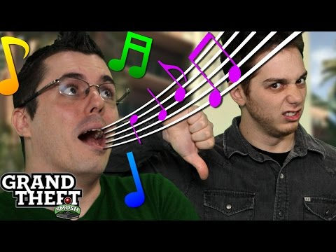 SINGING IN GTA GETS YOU KILLED (Grand Theft Smosh)