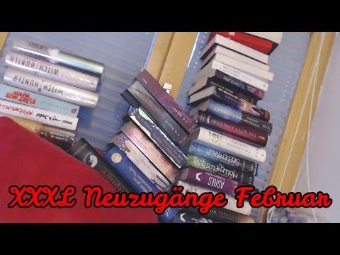 XXXL Neuzugänge Februar 2017 / 30+ Bücher ( Book Haul)