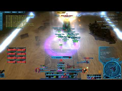SWTOR Dread Master Styrak hardmode Scum and Villainy operation (8m)