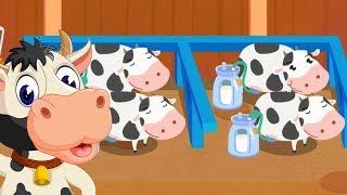 Game Vui Bổ Ích Cho Bé - Bé Khám Phá Cách Thu Hoạch Sữa Từ Những Con Bò