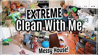 EXTREME CLEAN WITH ME 2019 | WHOLE HOUSE CLEANING | ULTIMATE CLEANING MOTIVATION | SAHM