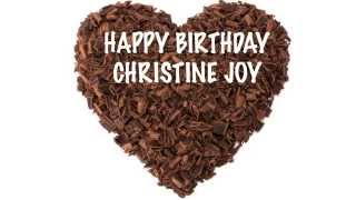 Christine Joy   Chocolate - Happy Birthday