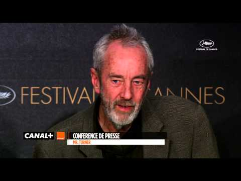Cannes 2014 - Mr Turner : Best Of Press conference