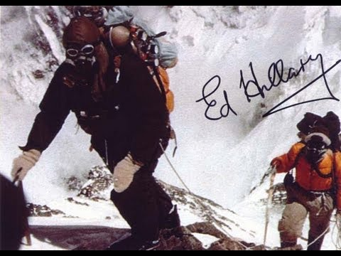 Edmund Hillary First Man to Climb Mount Everest | Many Have Died