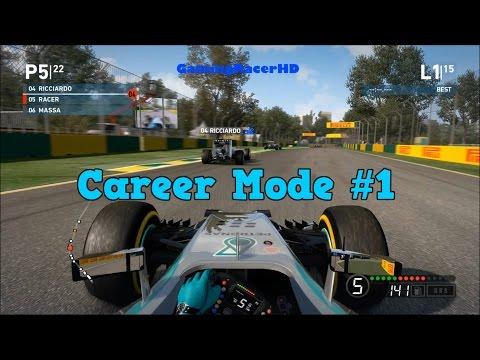 F1 2014 - Career Mode (Short Season) Race #1 - Australian Grand Prix (1080p HD)