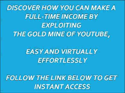 How Do You Make Money From Youtube,A Simple True System To Make $300 Daily With Youtube