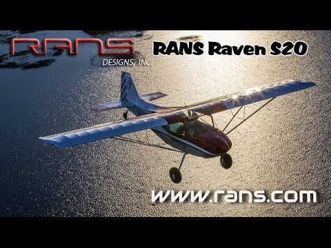 RANS Raven, RANS Aircraft's S20 Raven Aircraft Review by James Lawrence.