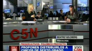 Educacion Sexual en Adolescencia - Beatriz Goldberg - C5N