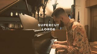 supercut: lorde (piano rendition by david ross lawn)