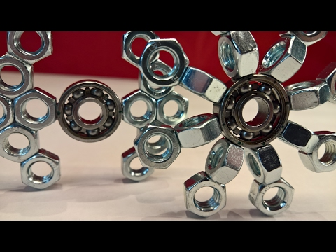 DIY Fidget Toy   Hand Spinner 8&9   Hardware Store Items Easy To Make For Beginners