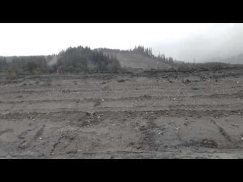 Oso landslide drive thru 6/16/14.