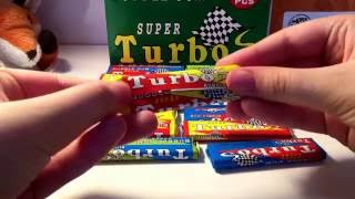 Распаковка 20 штук Турбо Cупер жвачек ! Unpacking 20 gum Turbo Super !