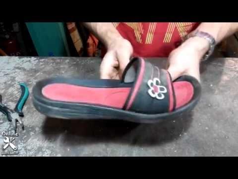 Сделай сам своими руками обувь летнею