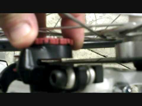 How to adjust your mountain bike mechanical disc brakes. Pretty easy!