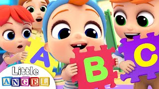 Mommy Helps Me Learn My ABC | Phonics Song | Little Angel Kids Songs & Nursery Rhymes