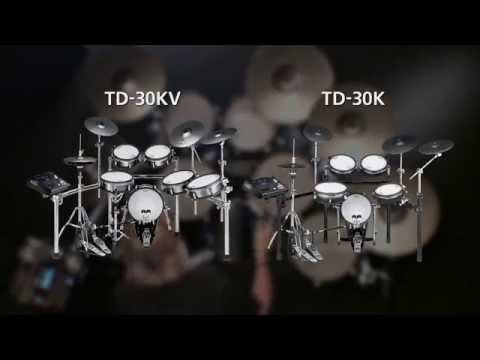 TD-30KV/TD-30K V-Drums V-Pro Series Overview