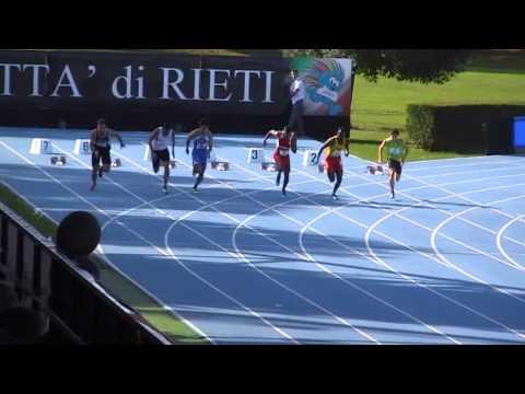 "100m Andrew Howe 10""53 - CDS 2013"