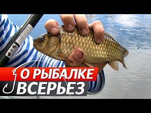 Весенняя Ловля Карася Поплавочной Удочкой. О Рыбалке Всерьез видео 233.