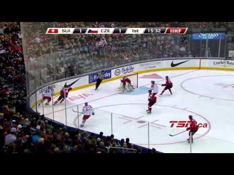 Czech Republic vs Switzerland  2015 IIHF World Junior  Day 2 (27.12.2014) Highlights HD
