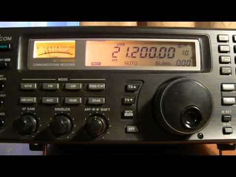 21200khz,Ham Radio,HS0ZGQ(Khonkaen,Thailand) 14-53UTC.