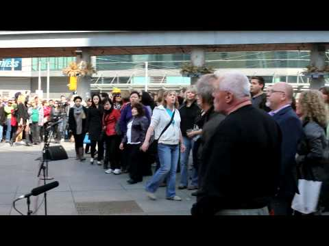 Toronto St. Patrick's Day Flashmob by Tourism Ireland