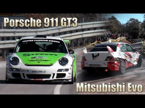 Porsche 911 GT3 vs BMW M3 vs Mitsubishi Evo - Drift 2015