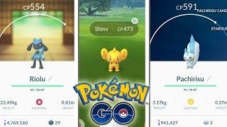 ¡TODO lo NUEVO de 4 GENERACIÓN! SHINX SHINY, HUEVOS, REGIONALES y RAIDS en Pokémon GO! [Keibron]