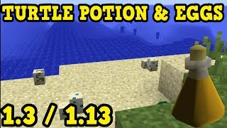Minecraft 1.13 / 1.3 Update: Turtle Eggs & NEW POTION