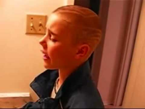 Justin Bieber – singing in the bathroom Back at One Brian McKnight
