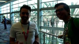 Chris Reinacher at vidcon 2017 with AGGETV!!!!!!!!!!!