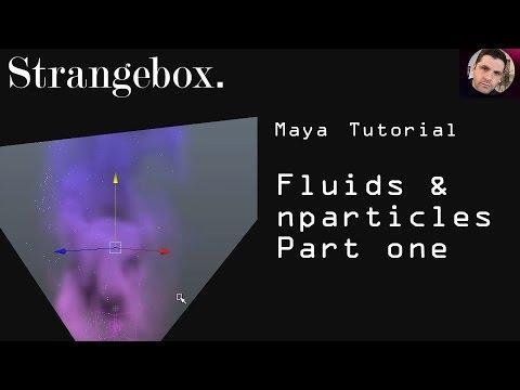 Maya Fluids and nparticles Tutorial : Magical smoke